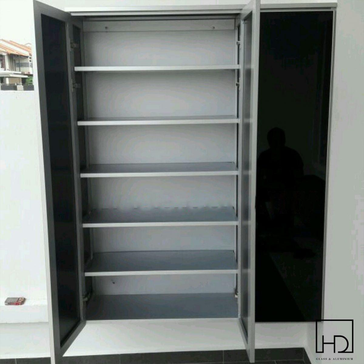 Aluminium Shoe Cabinet